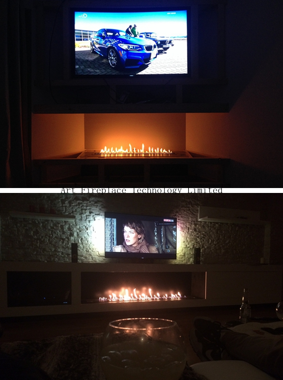 project of art automatic ethanol fireplace inserts
