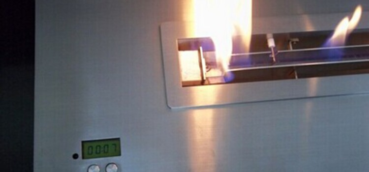 Ignition and Shutting of ART bioethanol fireplace