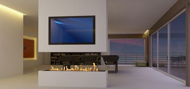 Smart Ethanol and Water Fireplaces By Art Fireplace