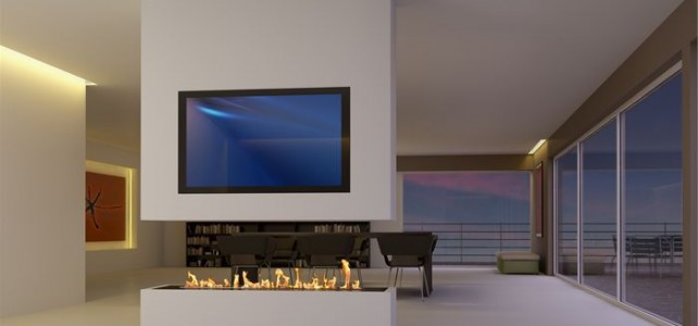 Ethanol Fireplaces for Passive Houses