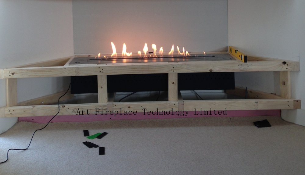 install automatic ethanol fireplace insert