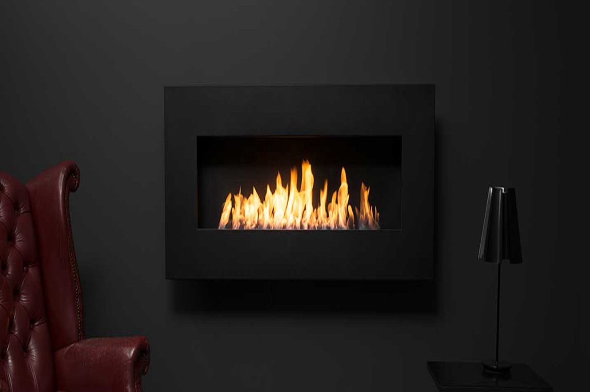 wall mount biothanol fireplace ah100