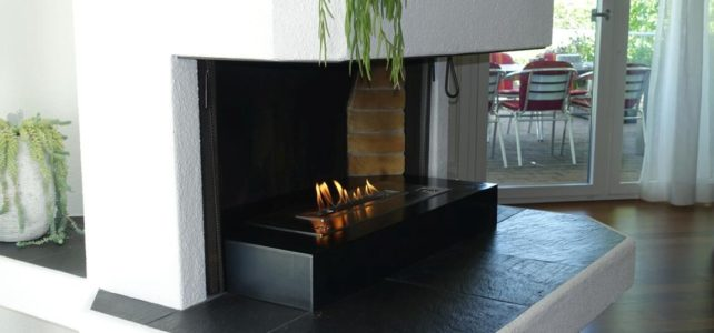 Install Remote Controlled Ethanol Ventless Fireplaces Inserts