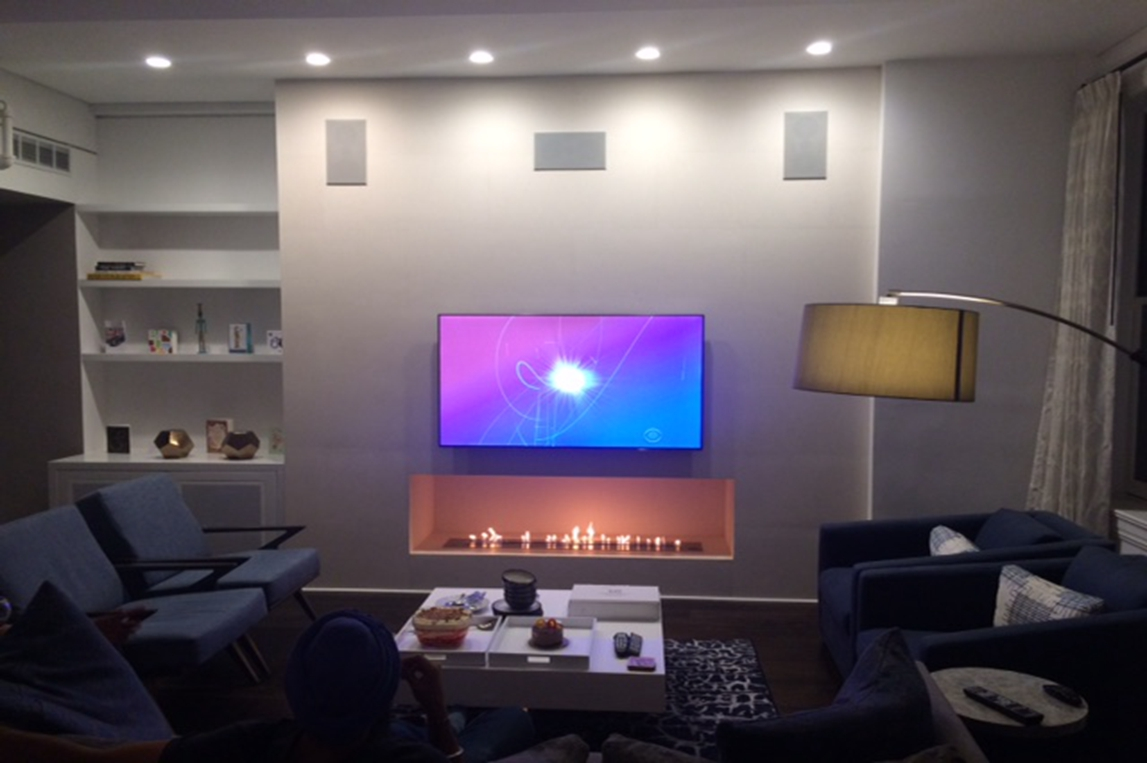 modern desin indoor ethanol burner af120 insert with remote control