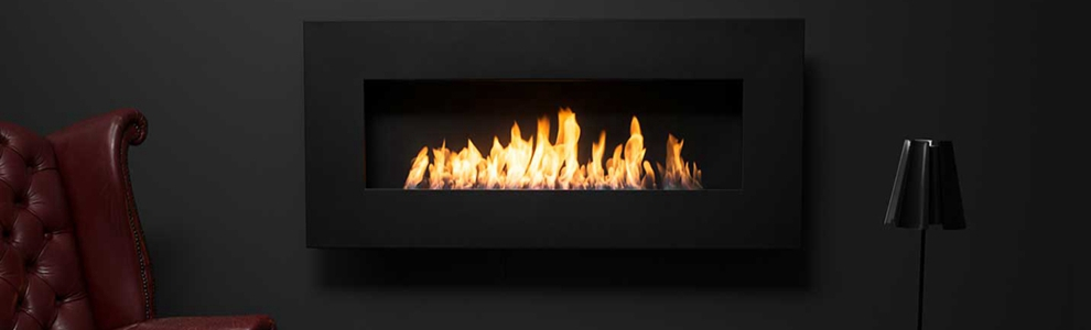 Automatic Ethanol Fireplace Extinction Or Ignition Ordered By Electric  Board And A Button ON/OFF And Remote Control. 2. Material In Stainless And  MDF.