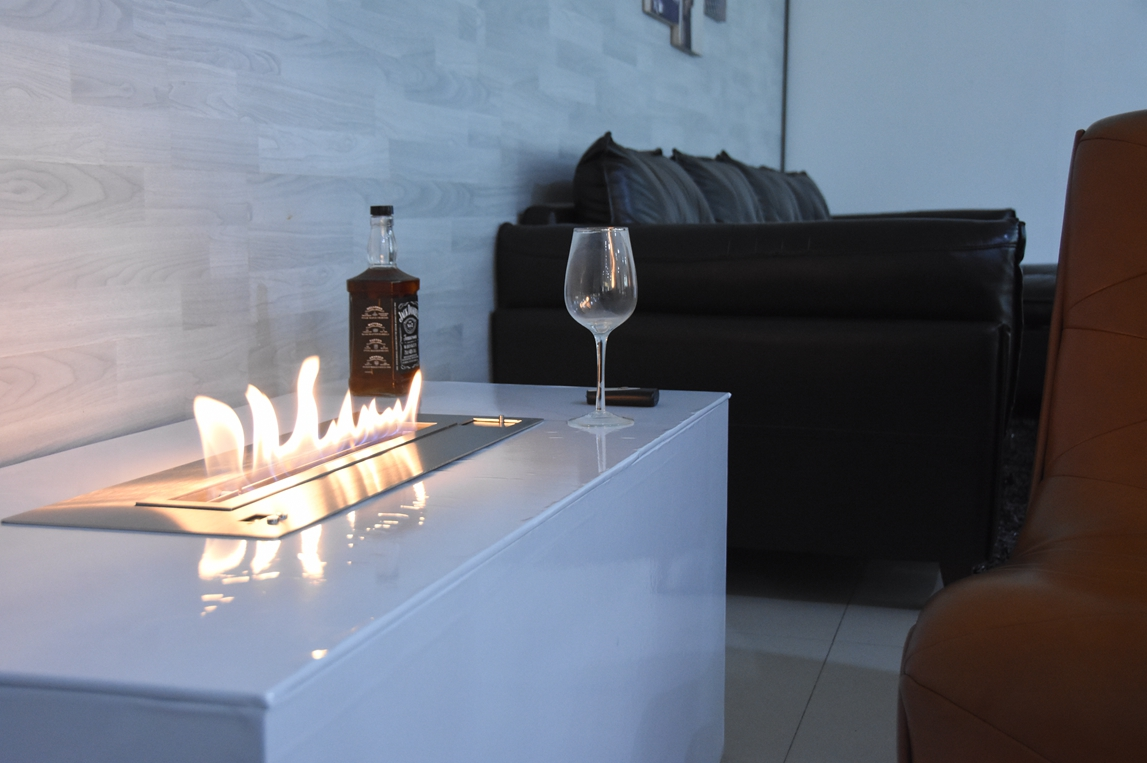 suggestions for ethanol fireplace application