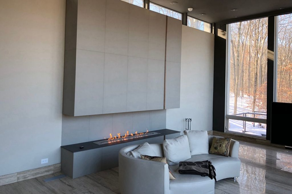 Intelligent Bio Ethanol Fireplace AF180 With Remote controller