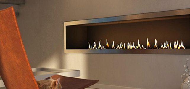 Modern Design With An Ethanol Fireplaces
