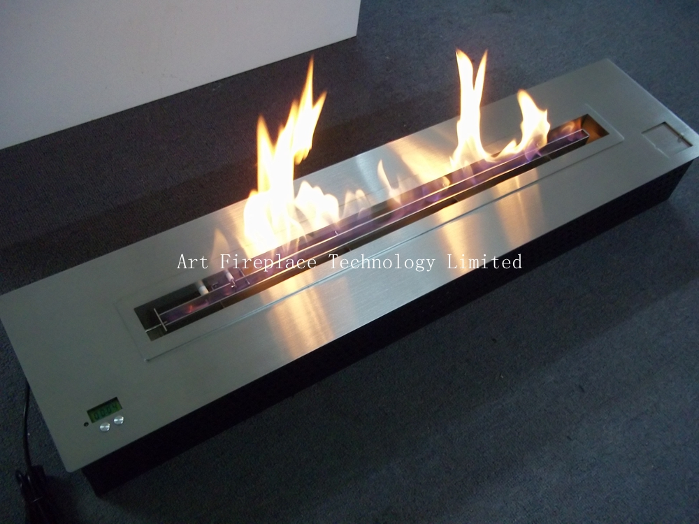 art fireplace automatic ethanol burner inserts