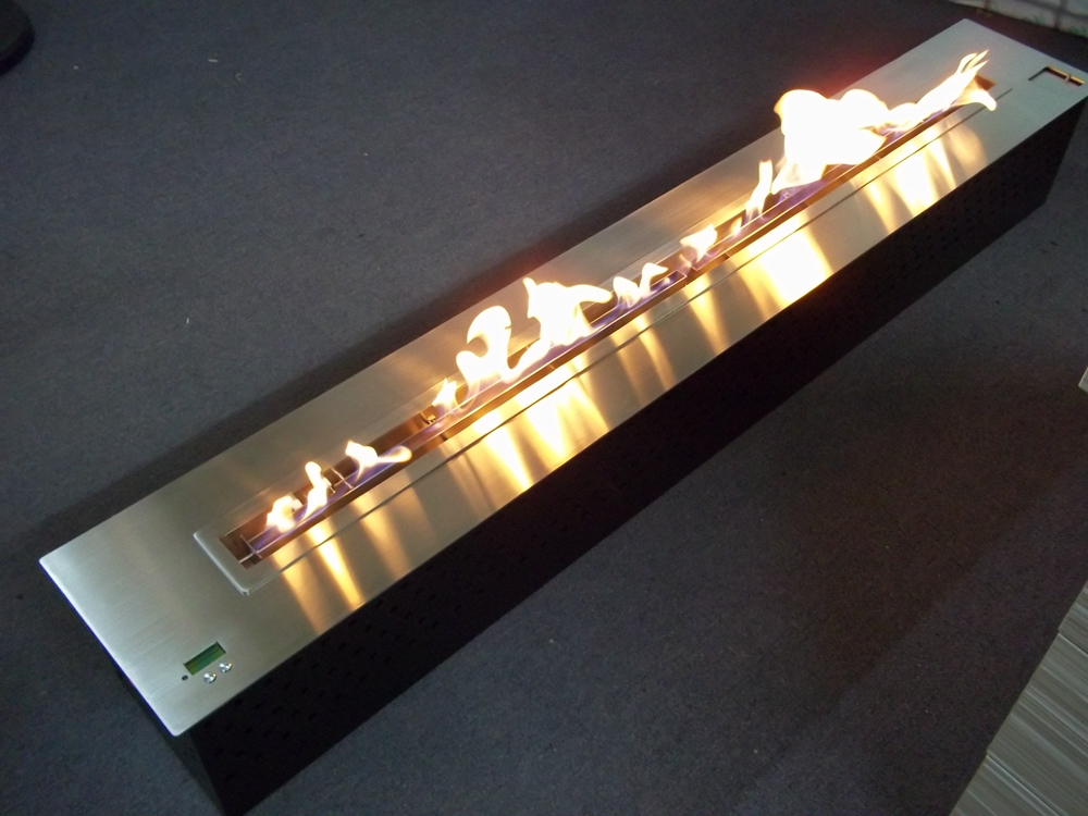automatic bio fireplace stainless steel model AF150
