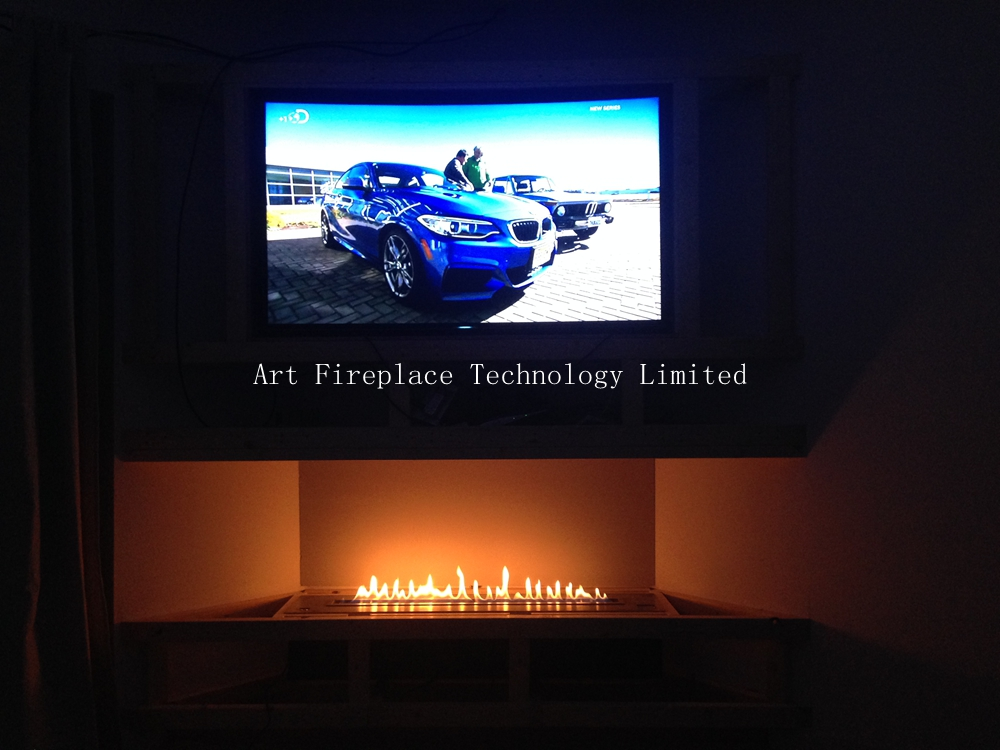 ethanol fireplace insert af120 with remote control