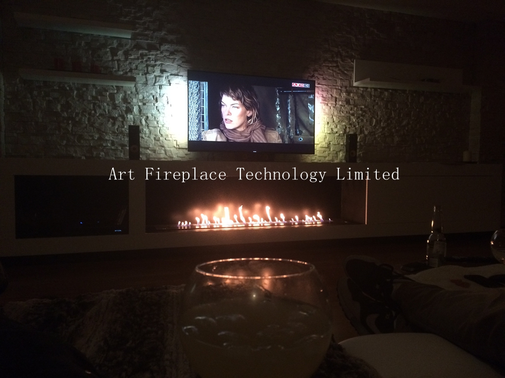 insert ventless ethanol fireplace AF180