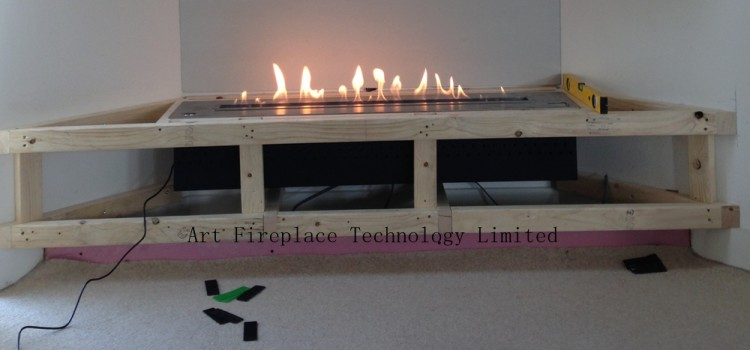 How to change a traditional fireplace into bio fireplace?