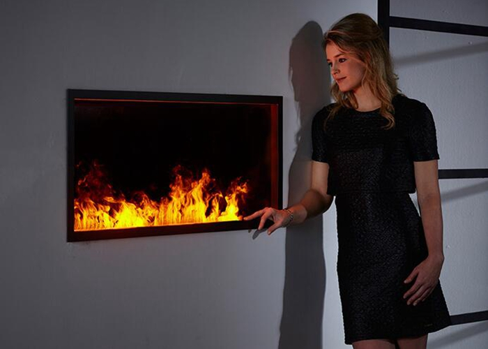 3D water vapor fireplaces with remote controller