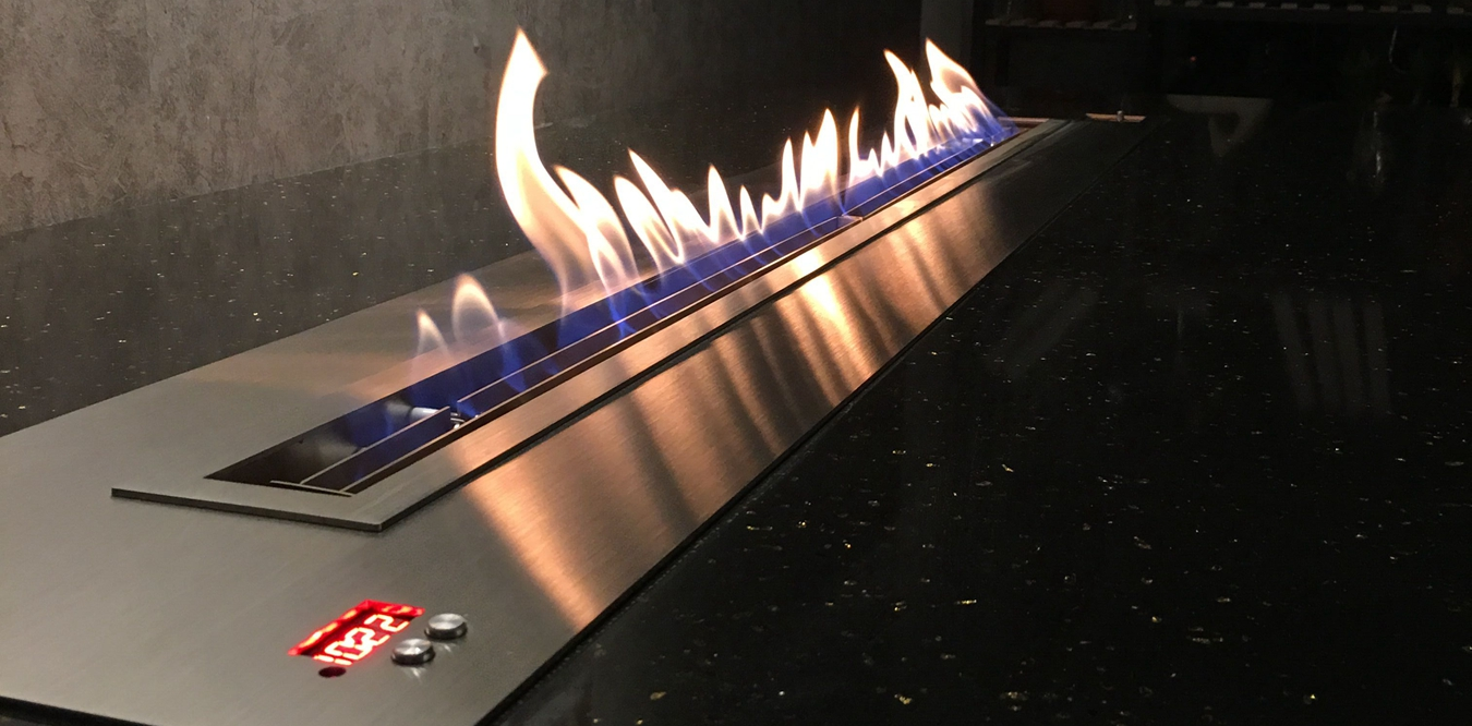 Automatic Bio Ethanol Fireplace System Leader